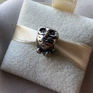 790278 Original Pandora Owl Charm